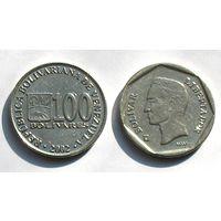 Венесуэла, 100 боливар 2002