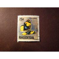 Родезия 1974 г.Нимфалида.