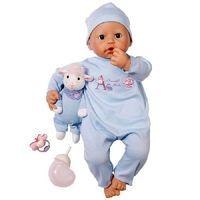 Кукла  Baby ANNABELL(46см,мальчик) с мимикой , пр-ль Zapf Creation(Германия) с музыкальной овечкой(кукла (оригинал, в оригинальной упаковке)+курточка для куклы