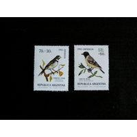 Аргентина 1974  фауна Певчие птицы **