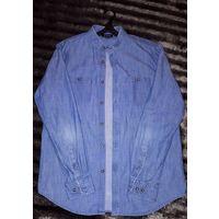 Мужская джинсовая рубашка Ostin