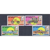 [179] Мали 1987. Техника.Транспорт.Автомобили.