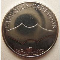 Камерун 1500 франков 2005 г. Первобытные деньги мамбила