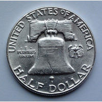 США 1/2 доллара. 1960. Ben Franklin Half Dollar