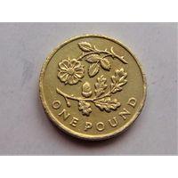 Великобритания 1 фунт 2013