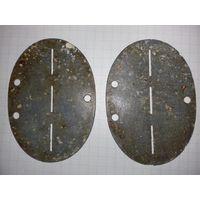 Два чистых немецких жетона (ЛОЗ)