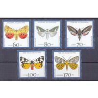 Германия 1992 фауна бабочки