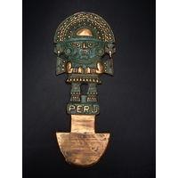 Сувенир чеканка из Перу