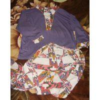 Пижама charmor р.48-50 (рубашка и штаны)