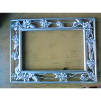 Рамка для фотографии металлическая (15*20 см)