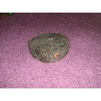 Шапка зимняя барашковая, старая кокарда