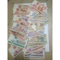 Сборный лот(32 банкноты)