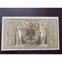 Германия 1000 марок 1910