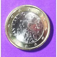 1 евро Сан Марино 2017