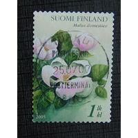 Финляндия 2005г. Флора.
