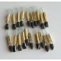Лампы накаливания малогабаритные коммутаторные КМ12-90 ( 12 Вольт 90 мА )  20 шт.