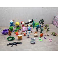 Лот детских фигурок, игрушек, модельки