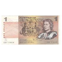 Австралия 1 доллар образца 1974 года