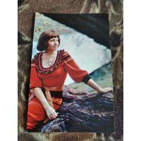 Актриса Любовь Румянцева 1978г