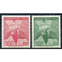 Международный геофизический год Чили 1958 год серия из 2-х марок