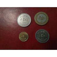 Иран набор 4 монеты