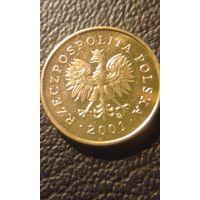 1 грош 2001