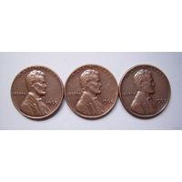США  центы 1965-1967г.г. (б/б)