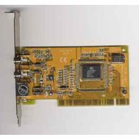 Ретро видео-плата LR51 с разъёмами AV1, AV2, SVHS на чипе Bt878