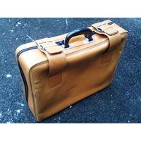 Чемодан сумка дорожный дермантин ссср