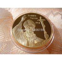 Монета италия ватикан римско-католическая папа иоанн павел II. распродажа