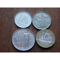 Четыре монеты за 0.99 25