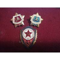 2 знака воин спортсмен 1 и 2+отличник СА