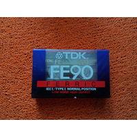 Аудиокассета TDK FE-90