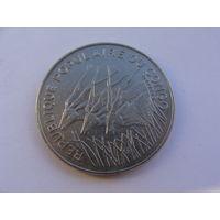 Конго. 100 франков 1982 год KM#2 Нечастая!!!