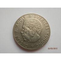1 крона Швеция 1973 Густав Адольф