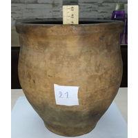 Жбан глиняный 21