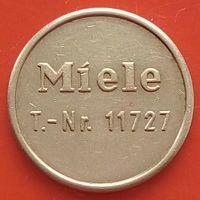 Токен для стиральных машин и получения мыла (ГЕРМАНИЯ) -Miele T.-Nr.11727