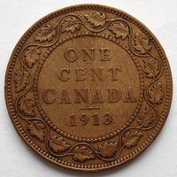 Канада 1 цент 1913 года Георг V (5)