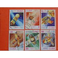 Куба 1983г. Космос.