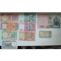 Банкноты Индии,Украины,Царская с рубля!!!
