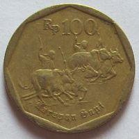 Индонезия, 100 рупий 1995 г