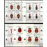 Фауна 1990 Аргентина Насекомые (Жуки) MNH** В Листах малых