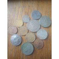 Монеты разные Рейх, Польша и прочие