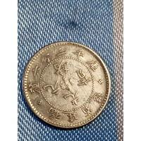 Китайская империя 5 центов серебро