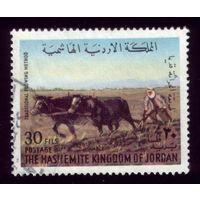 1 марка 1973 год Иордания 891