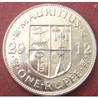 5892:  1 рупия 2012 Маврикий