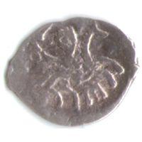 Деньга 1505-1533 Василий III Иоаннович чеканка в Твери _состояние ХF