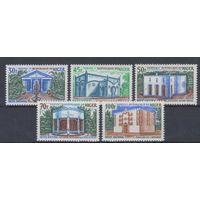 [1622] Нигер 1970. Архитектура.