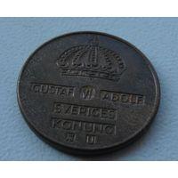 1 эре Швеция 1962 г.в. KM# 820, ORE, из коллекции
