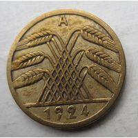 Германия. 5 рейхспфеннигов 1924 A 47